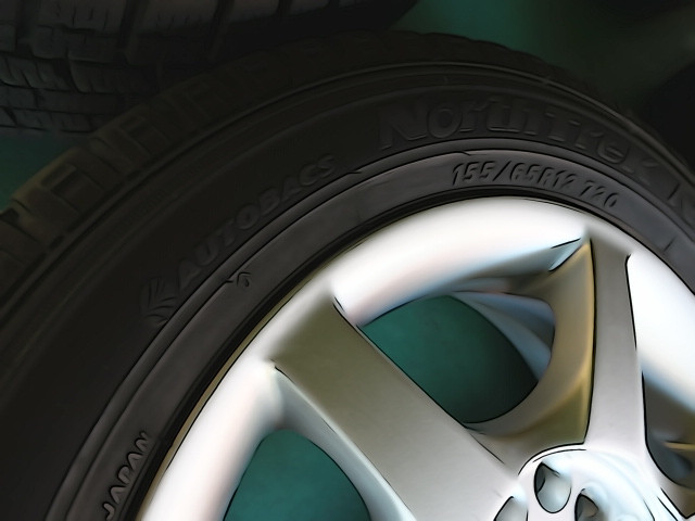 他、タイヤの刻印参照。